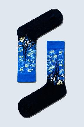 CARNAVAL SOCKS 7'li Sanatsal Çorap Desenli Tasarım Renkli Socks Set 1010 1