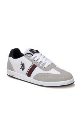 US Polo Assn KARES 1FX Beyaz Erkek Sneaker Ayakkabı 100910452 0