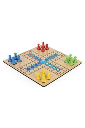 ANS TOYS Ahşap Kızma Birader Kutu Oyunu 3
