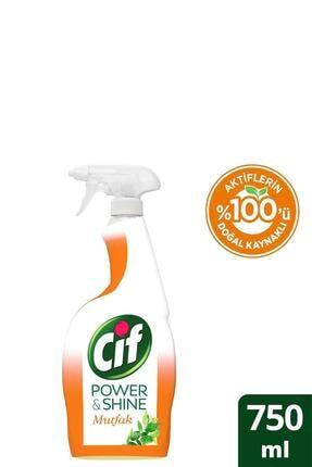 Cif Power & Shine Mutfak Sprey Temizleyici 750 ml 1