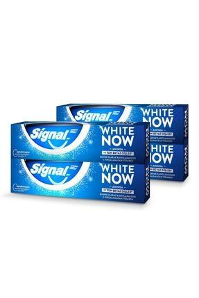 Signal White Now Anında Beyazlık Diş Macunu 75 ml X4 3