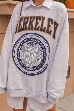 Senclub 3131 Gri Berkeley Baskılı Sweet 2