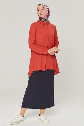 Kadın Yandan Yırtmaçlı Gömlek K20KA3901001-1919