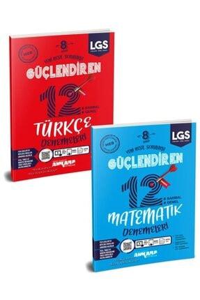 Ankara Yayınları Ankara 8. Sınıf Lgs Türkçe Matematik Deneme Seti 2 Kitap Yeni 2021 0