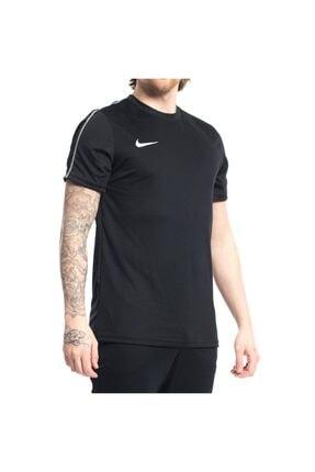 Nike Erkek  Kısakol Tişört Dry Park Jsy Siyah 0