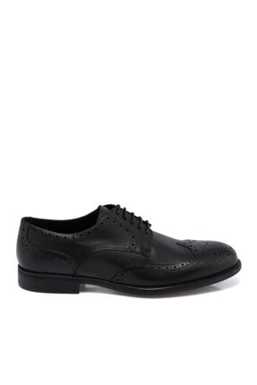 Tergan Siyah Deri Erkek Ayakkabı 55071a43 2