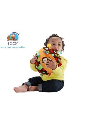 Sozzy Toys Sarı Toys Çıngıraklı Topum Szy139 1