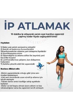 VENGI Ayarlanabilir Pvc Sporcu Atlama Ipi 3