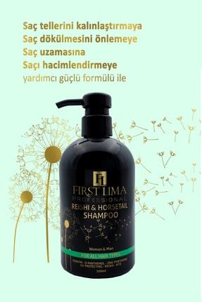 First Lima Professional Reishi & Horsetail Şampuan Dökülme Önleyici Ve Uzama Desteği 1
