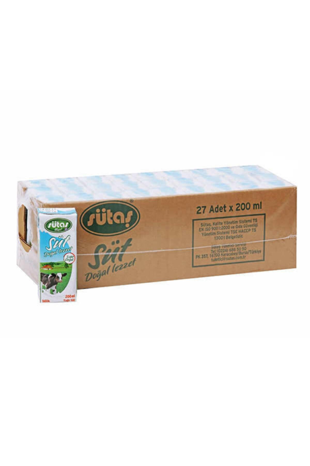 Yarımyağlı Uht Süt 200 ml ( 27 adet )
