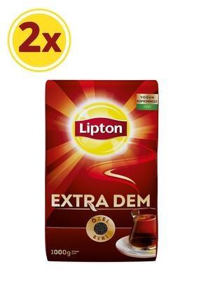 Lipton Extra Dem Dökme Çay 1000 gr X 2 Adet 1