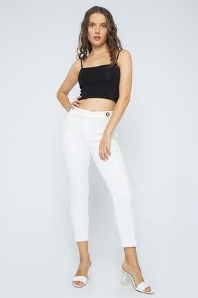Chima Önü Nervürlü Pantolon 1