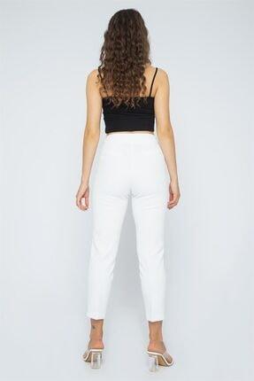 Chima Önü Nervürlü Pantolon 3