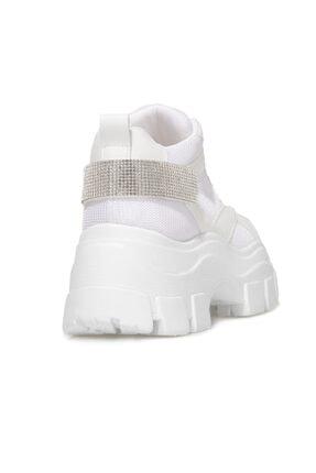 Butigo Brad Beyaz Kadın Sneaker Bot 3