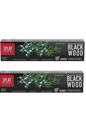 Splat Blackwood Siyah Beyazlatıcı Diş Macunu 2'li 75ml + 75ml 0