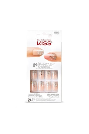 Kiss Takma Tırnak Seti Tırnak Yapıştırıcılı - Kgno1c - 731509606638 0
