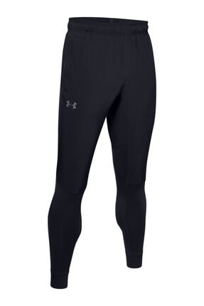 Under Armour Erkek Siyah Spor Eşofman Altı - Hybrid Pants 2
