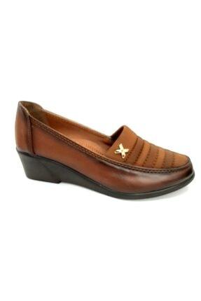 50782 Topuk Dikenine Özel Ortapedik Ayakkabı Taba resmi