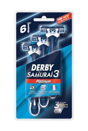 Derby Samurai Platinum 3 Blister 6'lı 0
