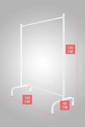 Tedarikcenter Metal Konfeksiyon Askısı Konfeksiyon Elbise Askılığı Eşek Askılık 2