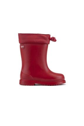 IGOR W10100 Chufo Cuello-005 Kırmızı Unisex Çocuk Yağmur Çizmesi 100386301 0