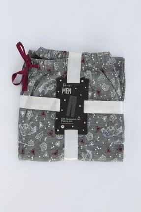 Penti Gri Melanj Gift Geometric Pantolon 0