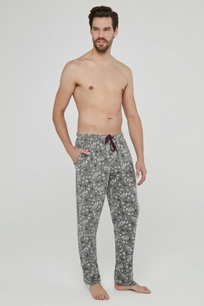Penti Gri Melanj Gift Geometric Pantolon 4