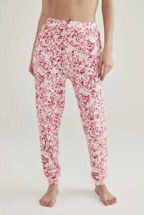 Penti Pembe Melanj Pink Flowers Pantolon 0