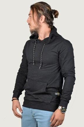 Terapi Men Erkek Kapşonlu Uzun Kollu Sweatshirt 9y-5200178-002 Siyah 2