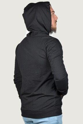 Terapi Men Erkek Kapşonlu Uzun Kollu Sweatshirt 9y-5200178-002 Siyah 3