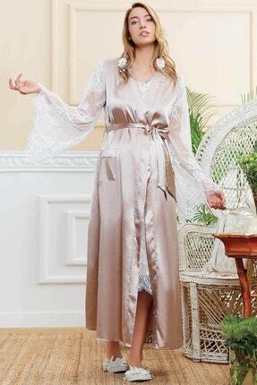 Lohusa Sepeti 052322 Tracy Vizon Sabahlıklı Lohusa Pijama Takımı 1