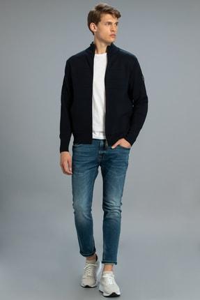 Lufian Icon Smart Jean Pantolon Slim Fit Açık Indigo 0