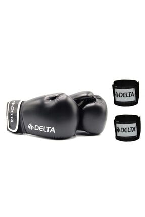 Delta Maxima Deluxe Pu Boks Eldiveni + Boks El Bandajı Seti 0