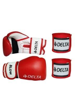Delta Blow Dura-strong Boks Eldiveni + Boks El Bandajı Seti 0