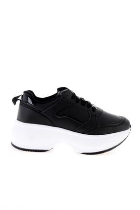 Bambi Siyah Kadın Sneaker L0547000509 1