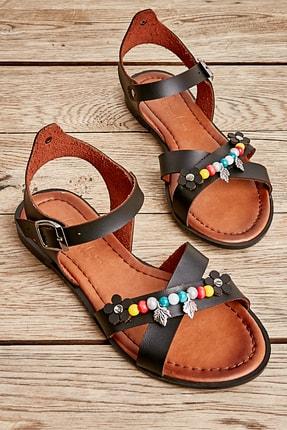 Bambi Sıyah Kadın Sandalet L0529333309 0