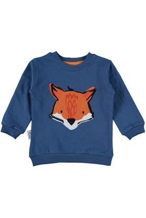 hepbaby Tilki Nakışlı, Ekoseli Bebek Pijama Takımı – 9-18 Ay 1