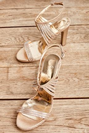 تصویر از Altın Kadın Abiye Ayakkabı L0674032478