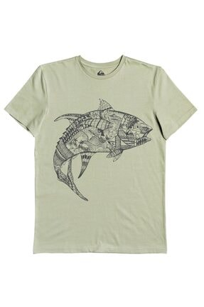 Quiksilver Tattoo Tuna M Tees Ghj0 T-shirt 0
