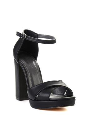 Bambi Siyah Kadın Abiye Ayakkabı L0674082409 2