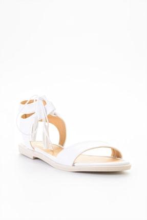 Bambi Beyaz Kadın Sandalet L0652071009 2