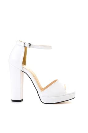 Bambi Beyaz Kadın Açık Ayakkabı L0674001509 1