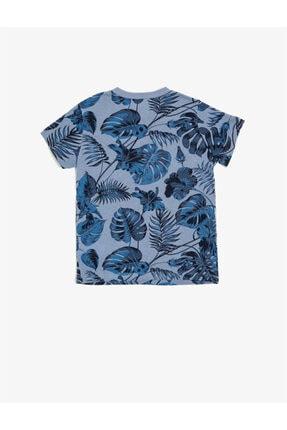 Koton Erkek Çocuk Yazili Baskili T-shirt 1