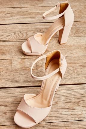 Bambi Ten Kadın Abiye Ayakkabı L0674001509 0