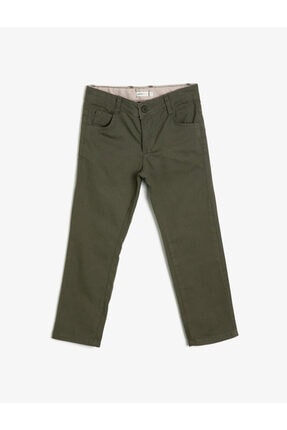 Picture of 5 Cep Pamuk Gabardin Basic Pantalon