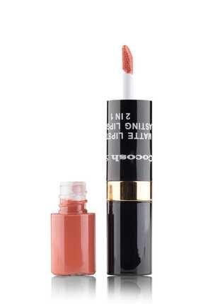 Cocosh She Ruj - Matte Smile Lipstick & Lipgloss 2 In 1 02 Latte 8681569700475 1
