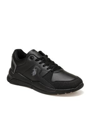 US Polo Assn CALABRIA Siyah Erkek Sneaker Ayakkabı 100548883 0