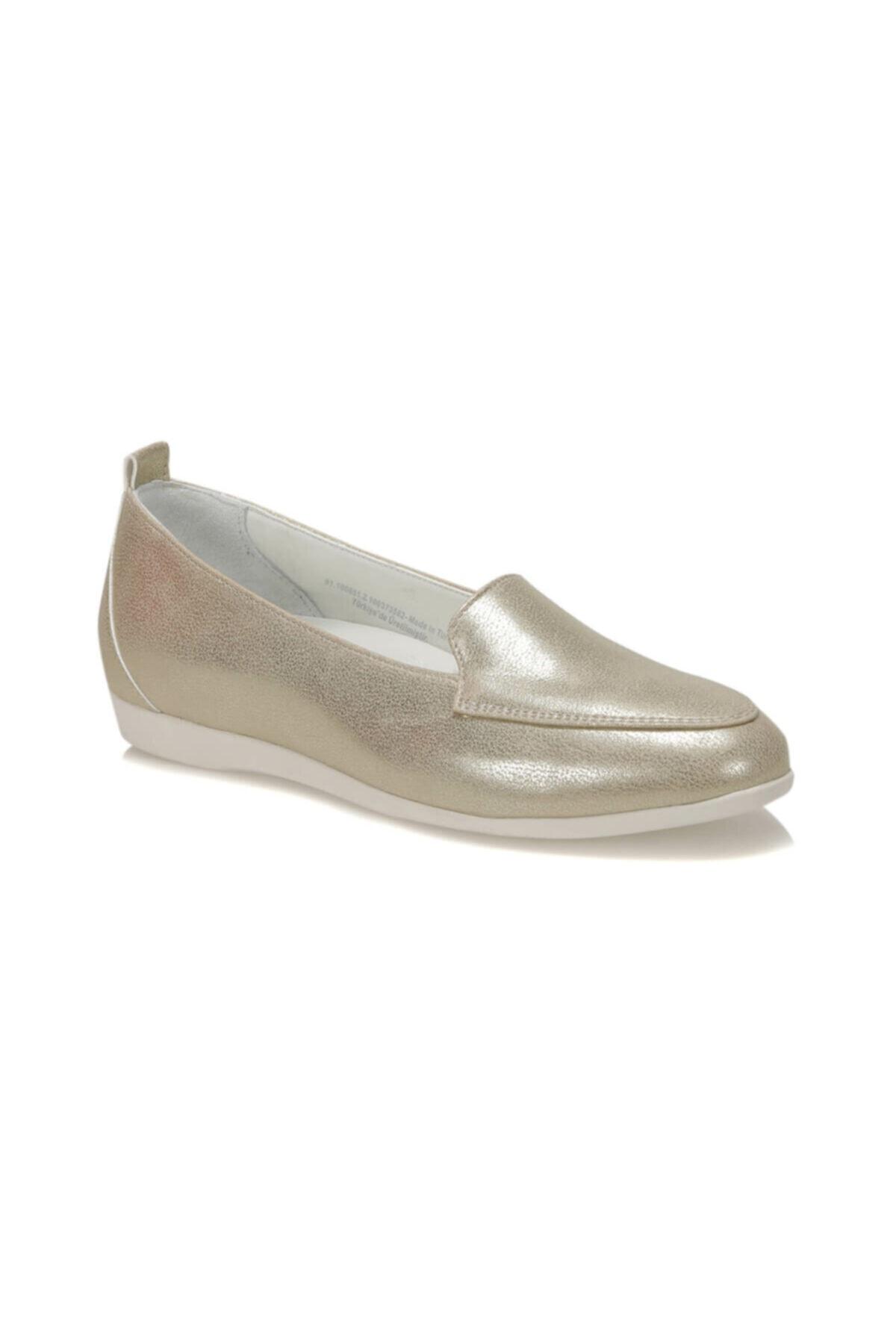 91.100651.Z Altın Kadın Ayakkabı 100373581
