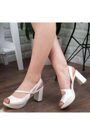 Adım Adım Sedef Yüksek Topuk Abiye Kadın Ayakkabı • A192ymon0001 2
