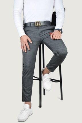 Terapi Men Erkek Keten Pantolon 8k-2200133-042 Antrasit 0